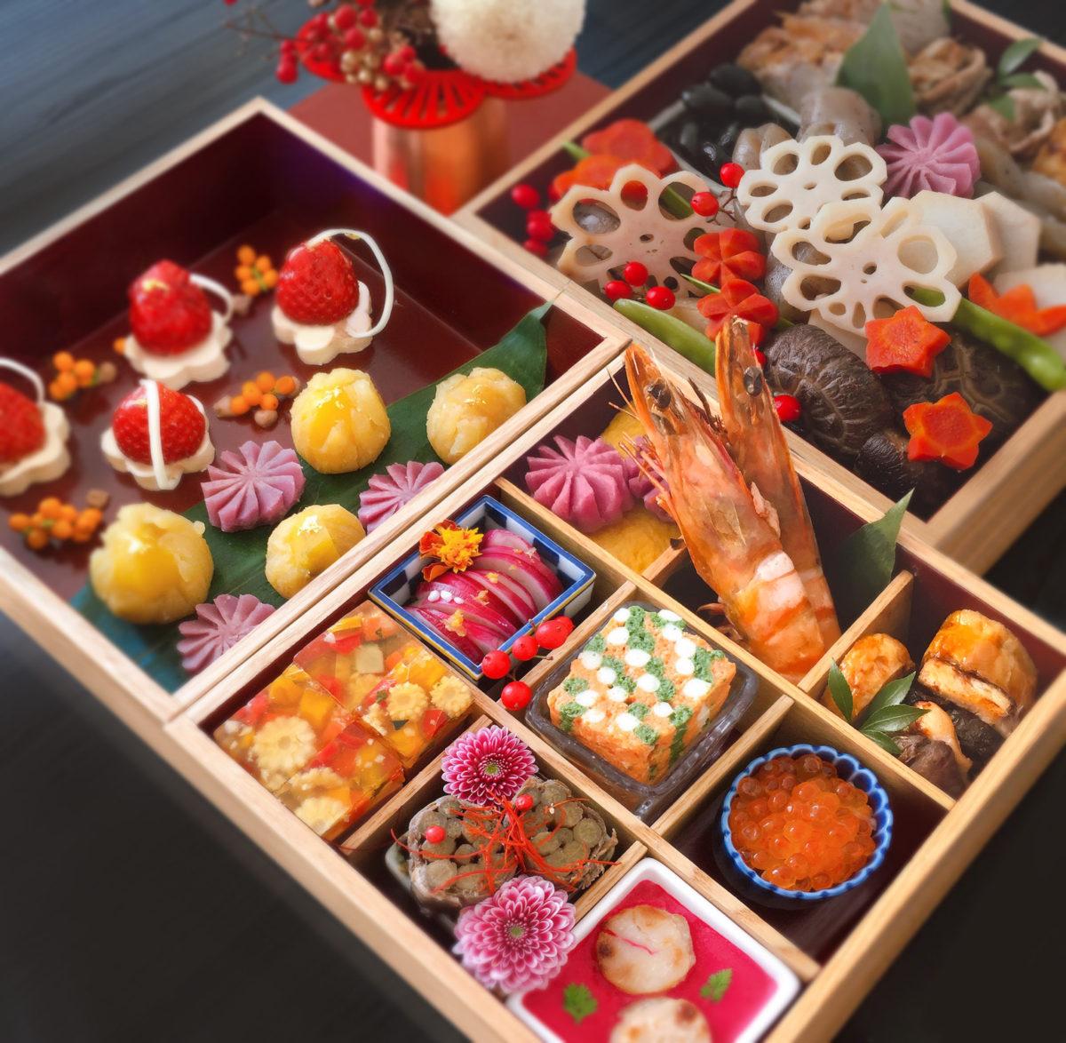松屋漆器 おせち 重箱 日本製可愛い インスタグラム