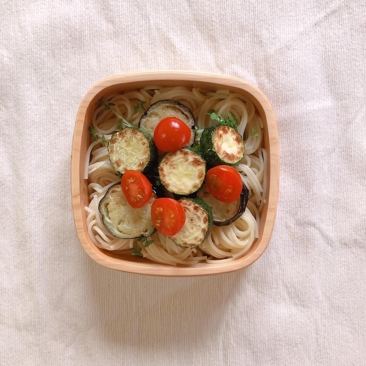 簡単弁当レシピ 冷製パスタ