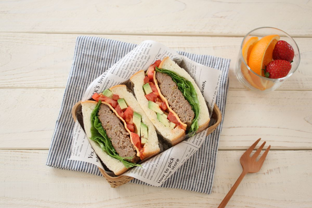 簡単サンドイッチ