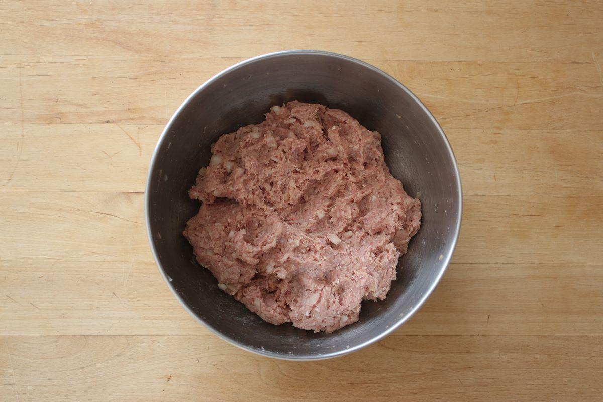 冷めても美味しいお弁当おかずハンバーグの作り方