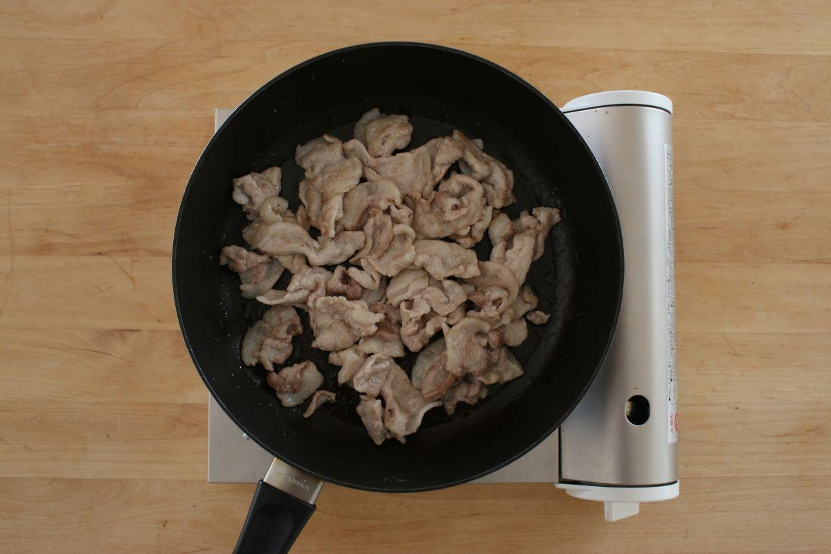 冷めても美味しいお弁当おかず生姜焼きの作り方