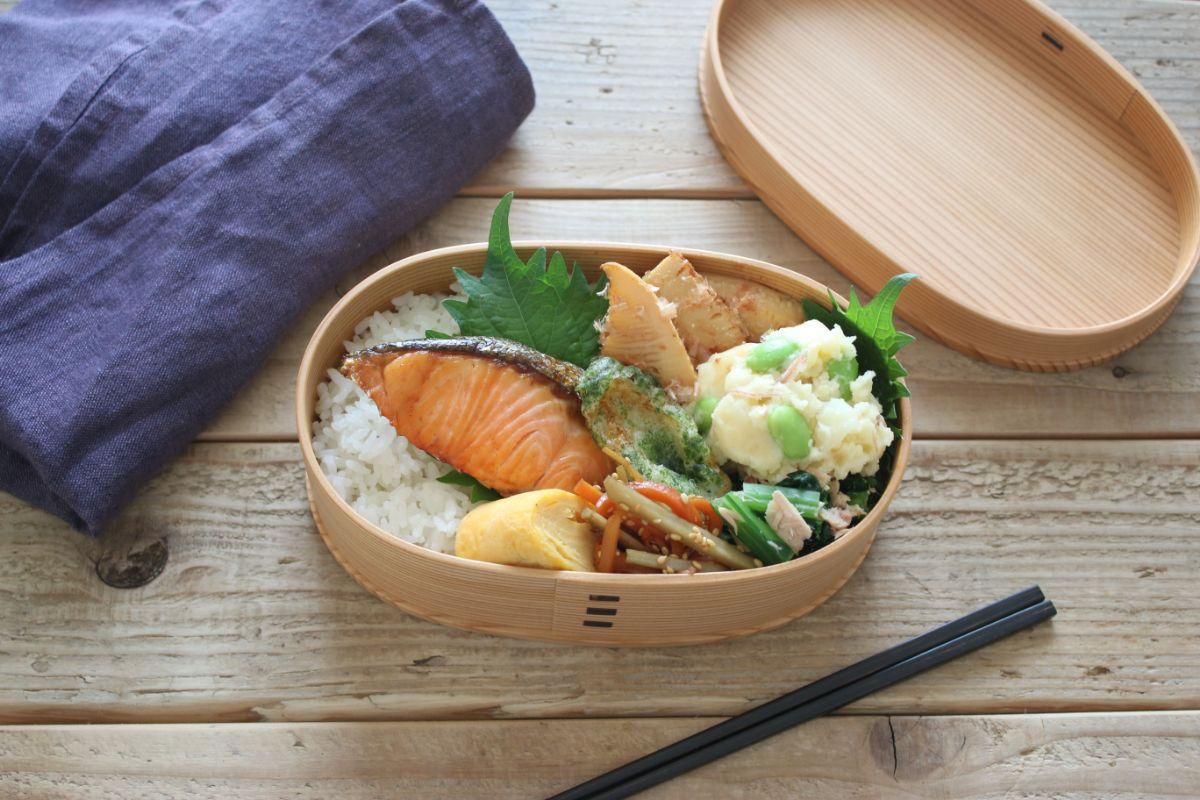 冷めても美味しいお弁当おかず鮭弁の作り方