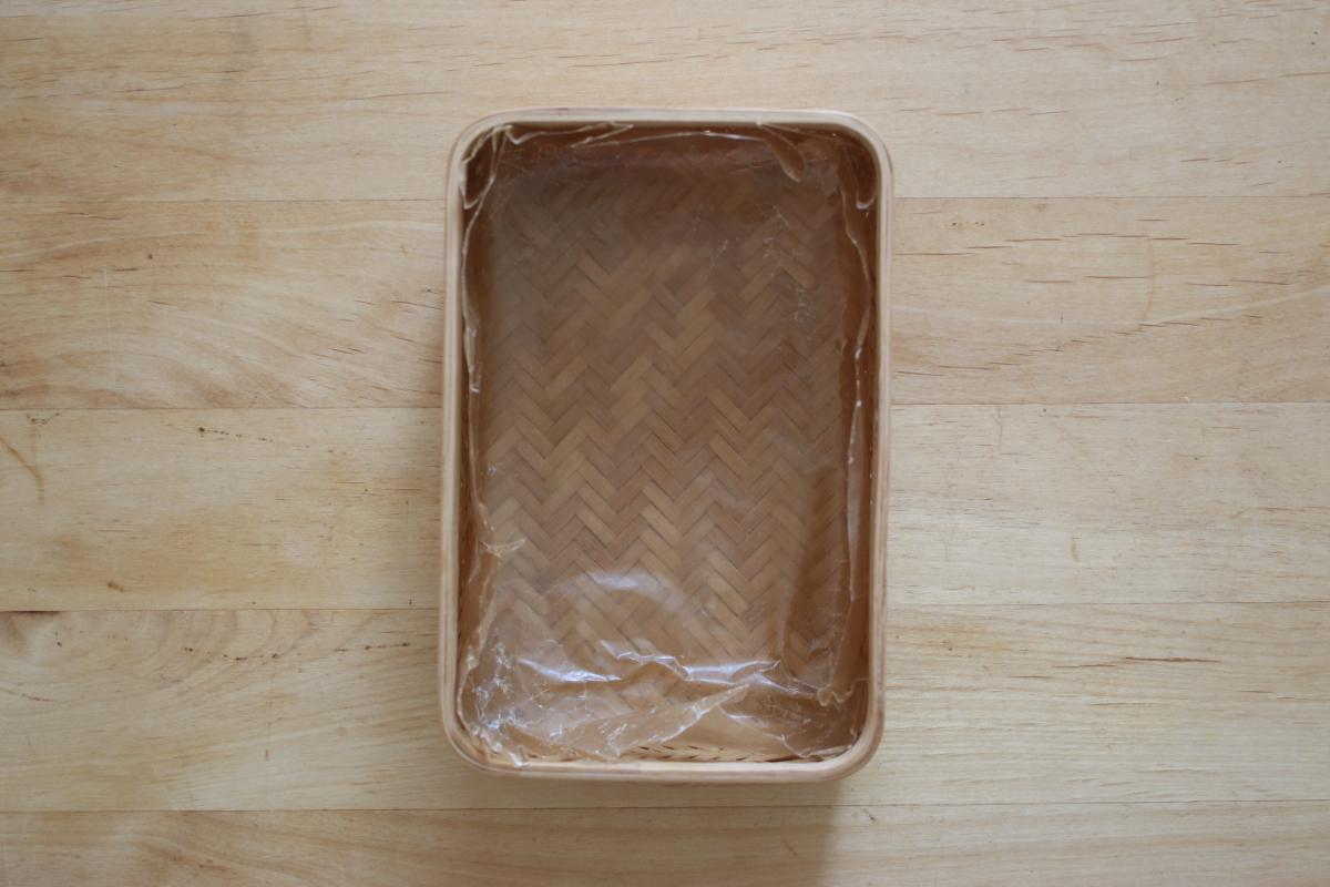 竹籠弁当箱の詰め方